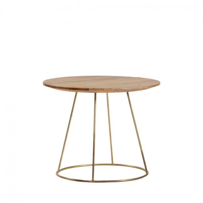 Table basse ronde ø50 ArtDéco