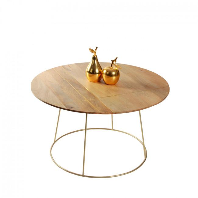Table basse ronde ø80 ArtDéco