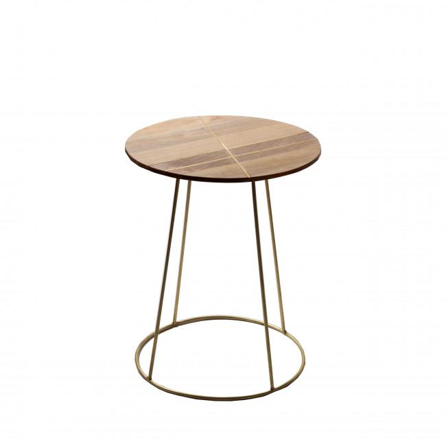 Table d'appoint ø40 ArtDéco