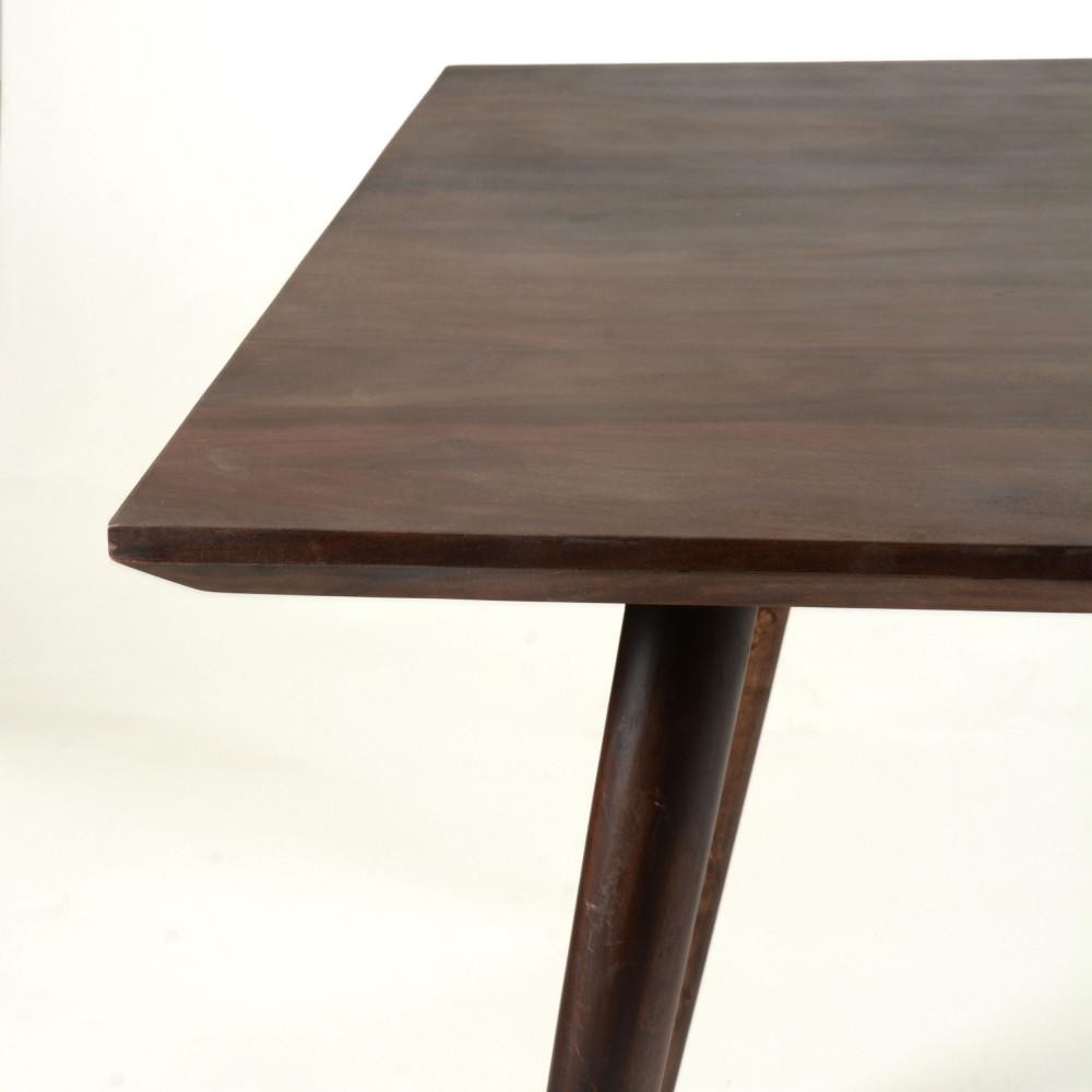 Table Manger Palissandre 160x90cm O2 Drawer # Vaisselier D'Angle Moderne En Palissandre
