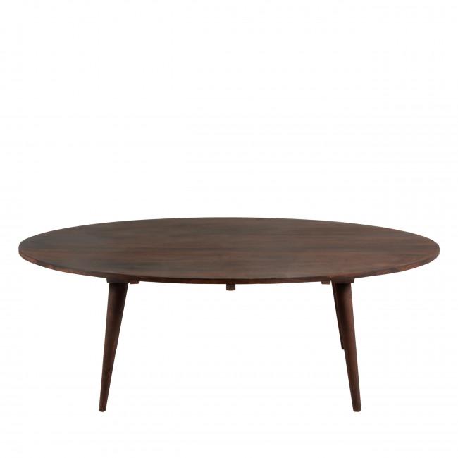 Table basse ovale en bois O2