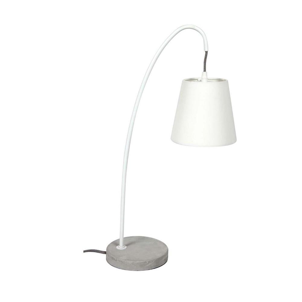 lampe poser design b ton concrete by drawer. Black Bedroom Furniture Sets. Home Design Ideas