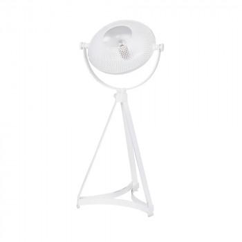 Lampe à poser en métal gris Blown Projector