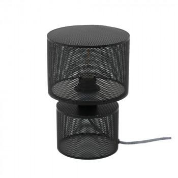 Lampe à poser métal noir Grido de Drawer