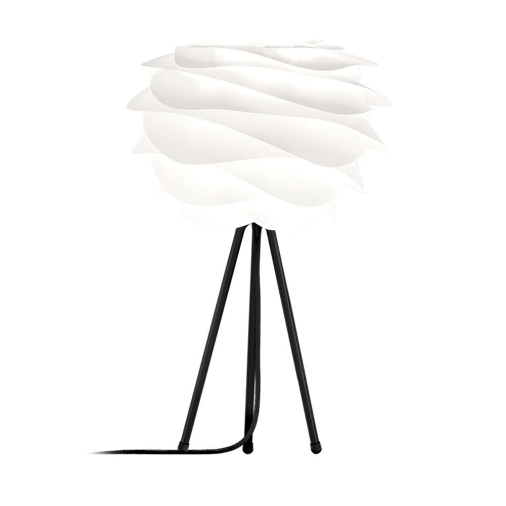 Lampe A Poser Carmina Mini Pied Noir Tripode