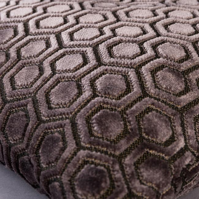 Coussin à motifs velours 50x50cm Dean Dutchbone