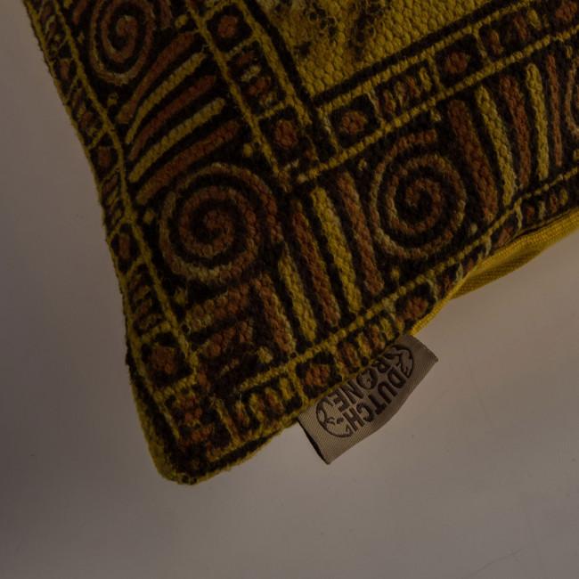 Coussin vintage 70x70cm Indian Block Dutchbone