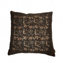 Coussin vintage 70x70cm Indian Block Dutchbone Gris