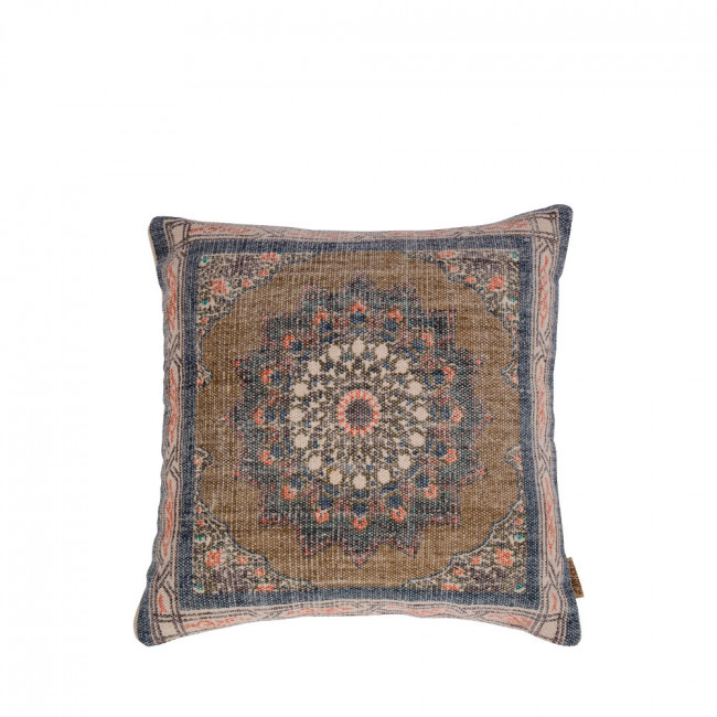Coussin coton motifs imprimés 50x50cm Rural Dutchbone
