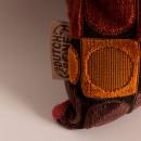 Coussin à motifs velours 45x45cm Ottava Dutchbone
