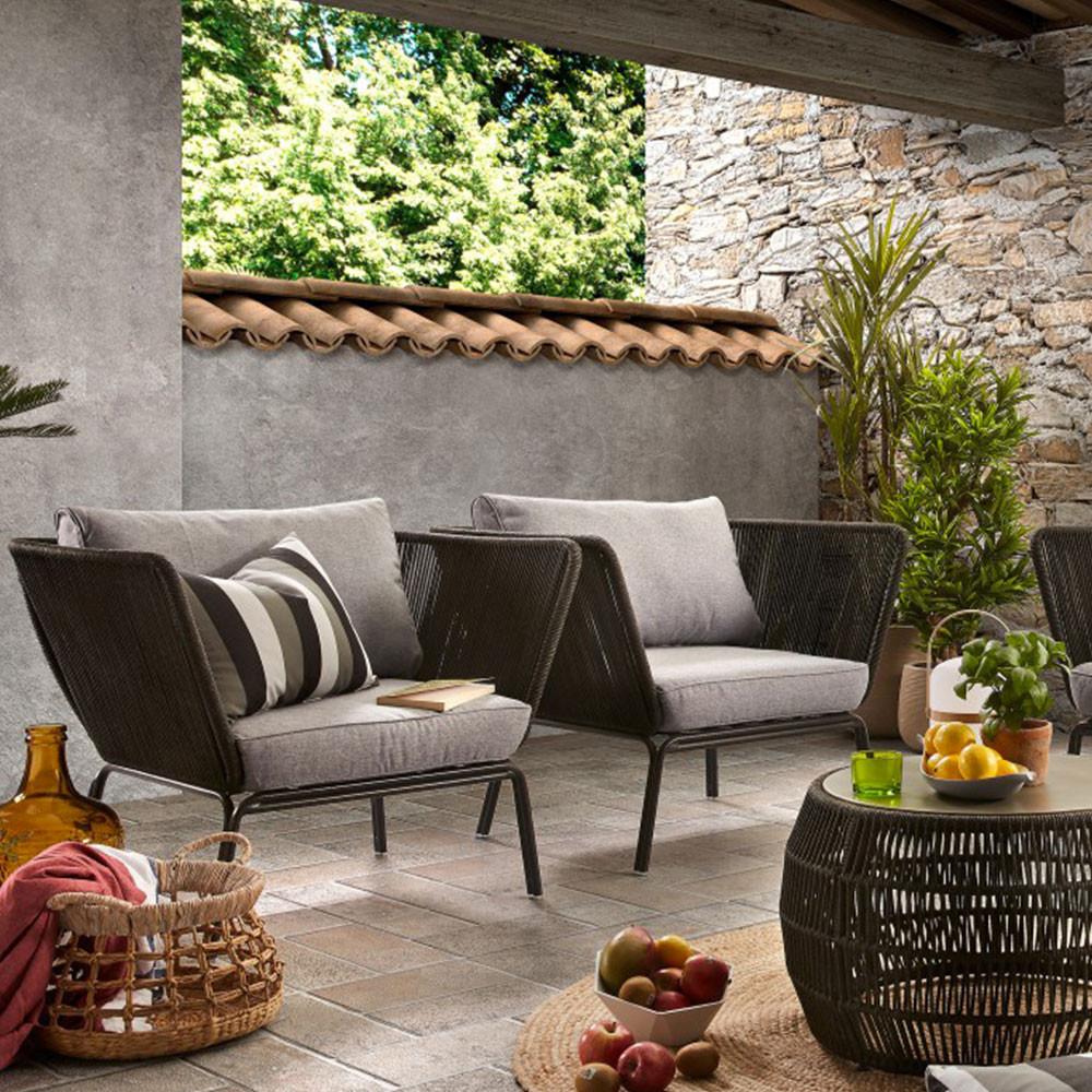 Salon de jardin lounge Vernon - Drawer