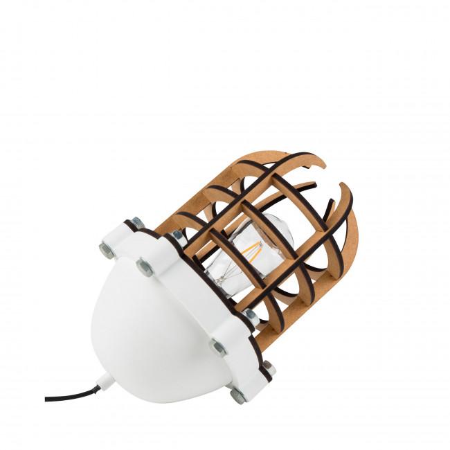 Lampe à poser métal et bois Navigator Zuiver Noir