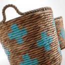 Lot de 2 paniers fibre naturelle Maja