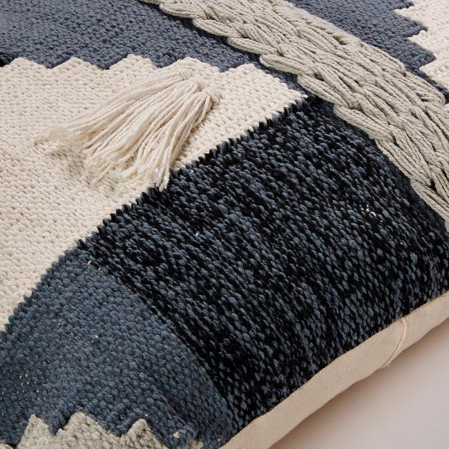Housse de coussin coton 45x45cm Atika
