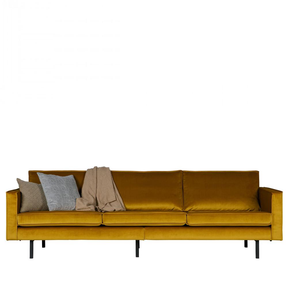 grand canap velours 3 4 places velvet bronco par. Black Bedroom Furniture Sets. Home Design Ideas