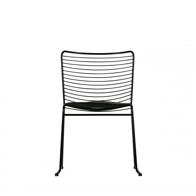 Chaise design métal noir Muck