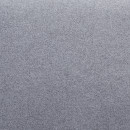 Fauteuil scandinave tissu et pieds bois Julius gris nuage