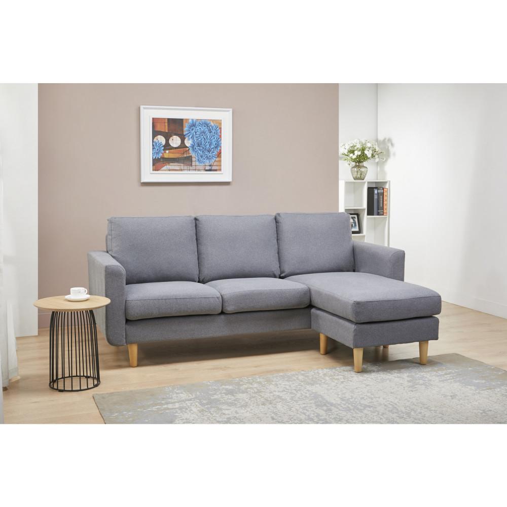 canap d 39 angle droite gauche 3 places ellington drawer. Black Bedroom Furniture Sets. Home Design Ideas