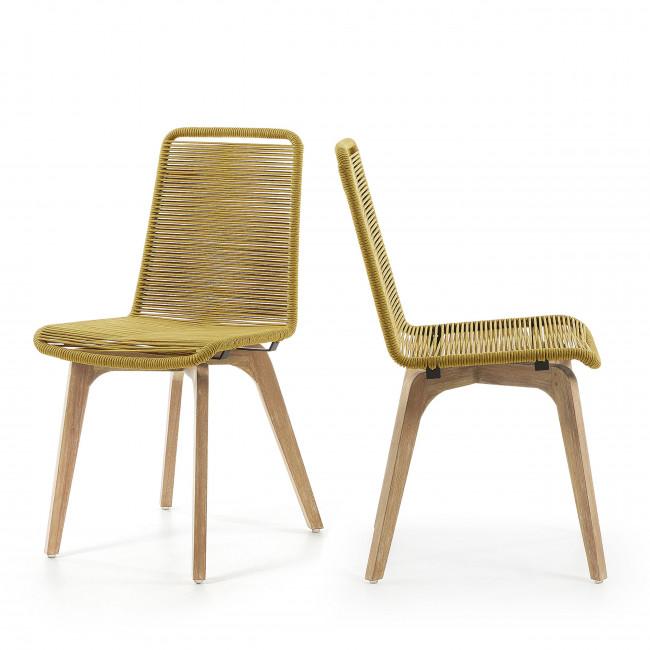 Lot de 2 chaises Glendon