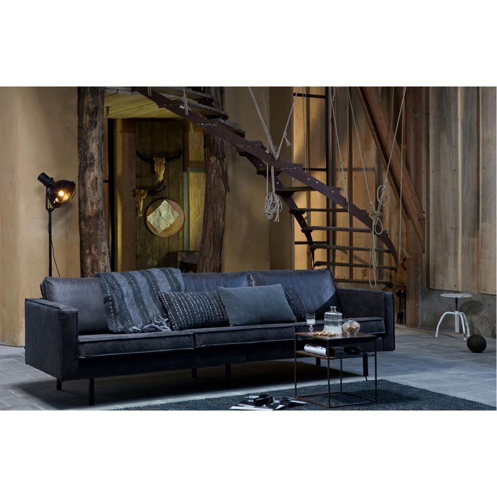 canap 3 5 places en cuir bronco par. Black Bedroom Furniture Sets. Home Design Ideas