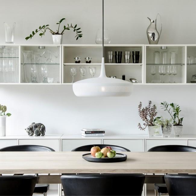 Suspension vintage Clava Dine blanc