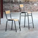Lot de 2 chaises de bar 74cm Pilot RedCartel