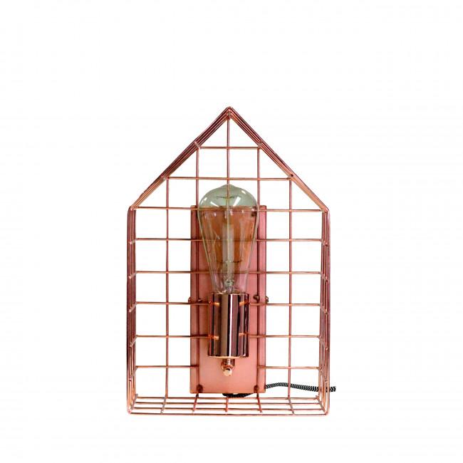 Applique murale cage métallique Welcome RedCartel
