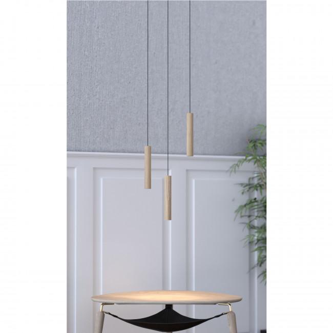 Suspension design en bois ø3 Chimes