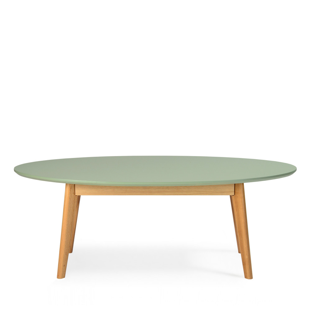 Table basse scandinave ovale skoll by drawer - Table basse design ovale ...