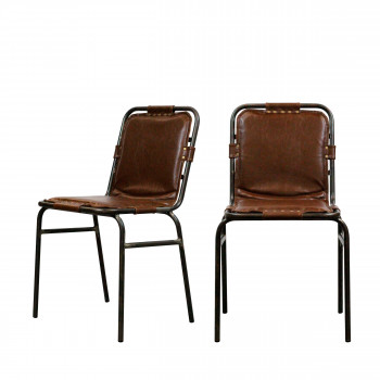 Lot de 2 chaises vintage Stingray RedCartel