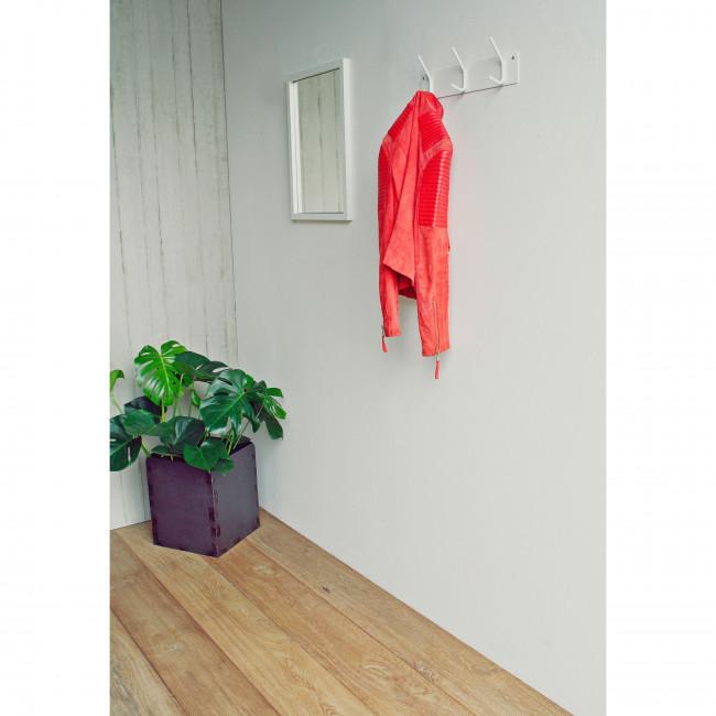 Porte manteau 3 crochets acier Fusion