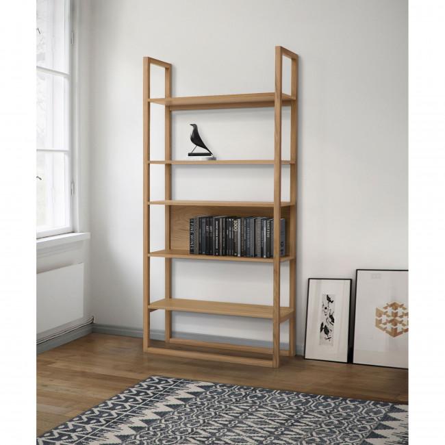 Bibliothèque design en bois NewEst