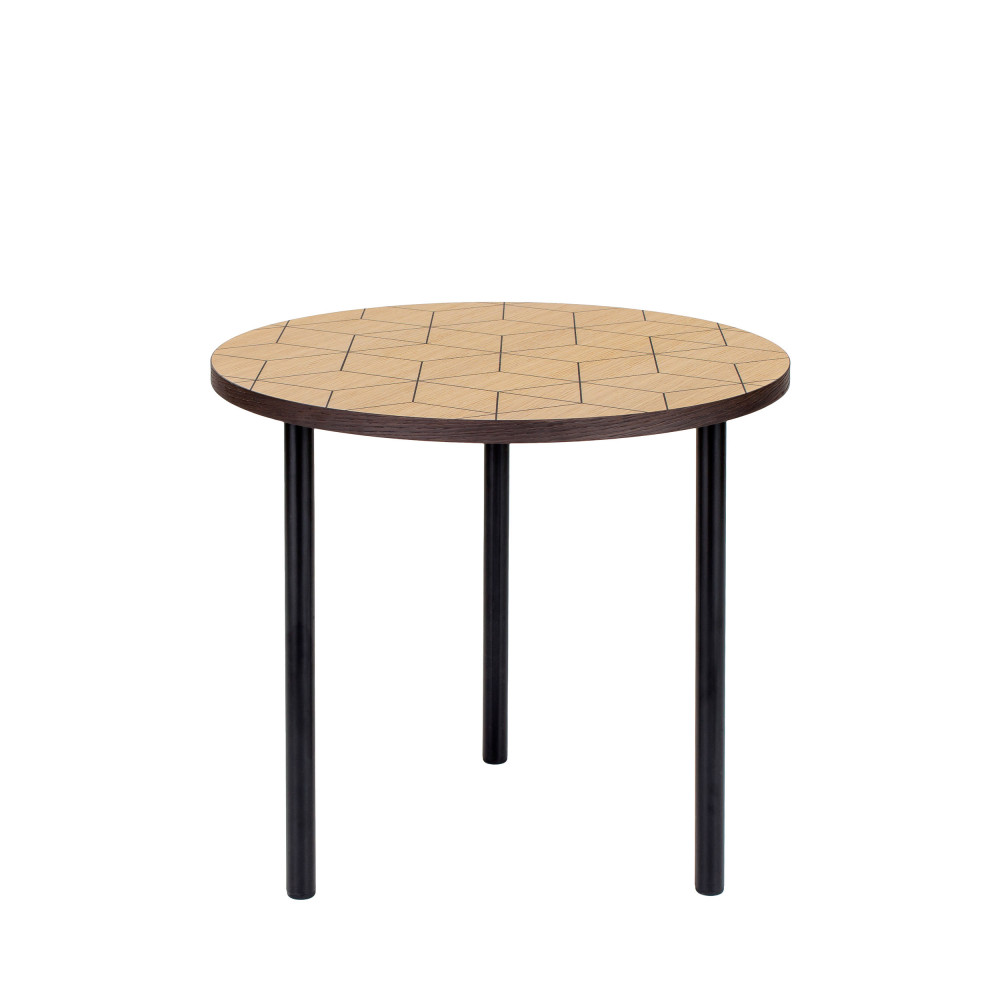 table basse motifs g om triques 50cm arty drawer. Black Bedroom Furniture Sets. Home Design Ideas