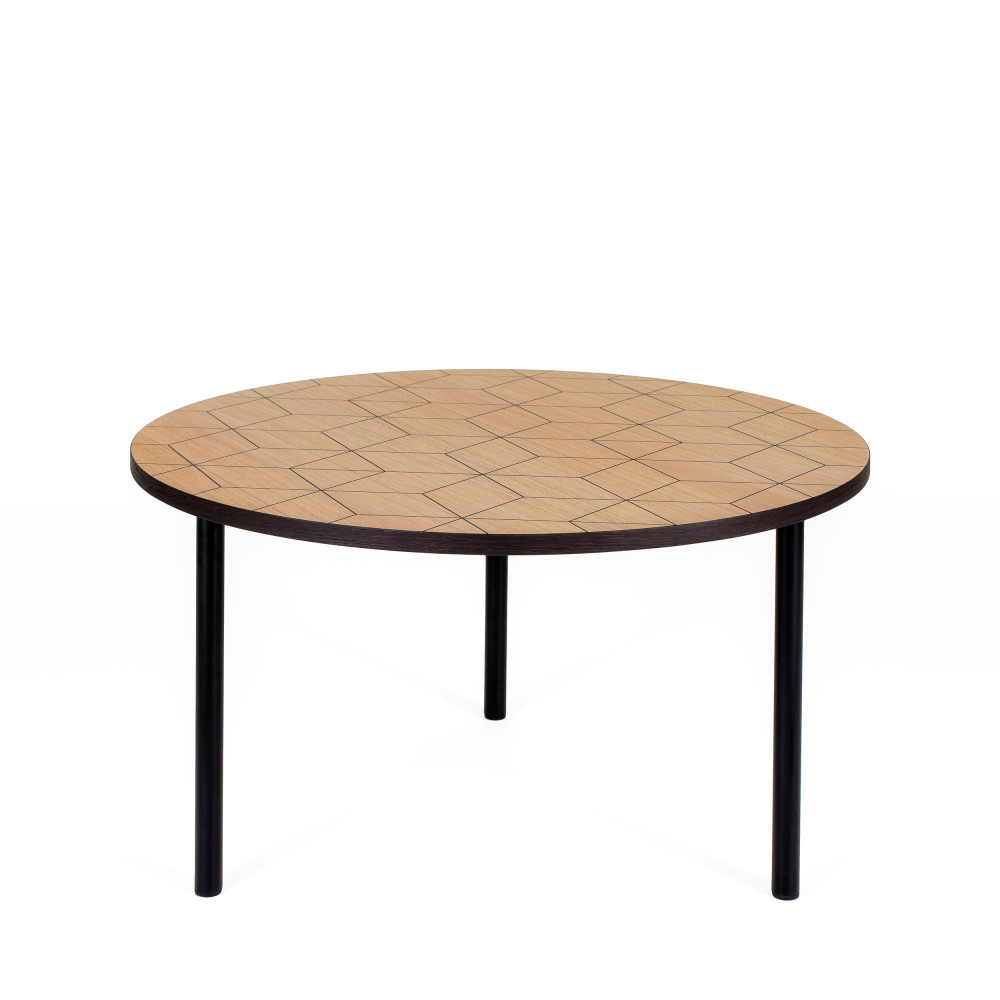 table basse motifs g om triques 70cm arty drawer. Black Bedroom Furniture Sets. Home Design Ideas