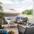 Canapé d'angle bois et corde indoor/outdoor Tucson
