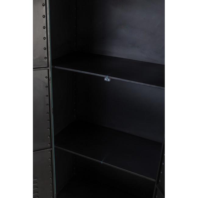 Armoire casier en métal Rusty Dutchbone bleu