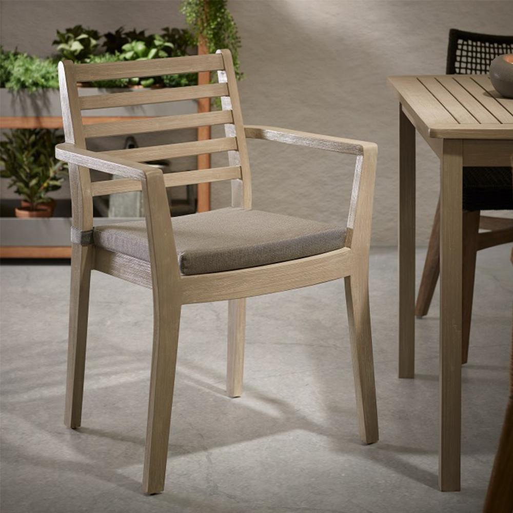 chaise de jardin en bois massif style contemporain rekely. Black Bedroom Furniture Sets. Home Design Ideas