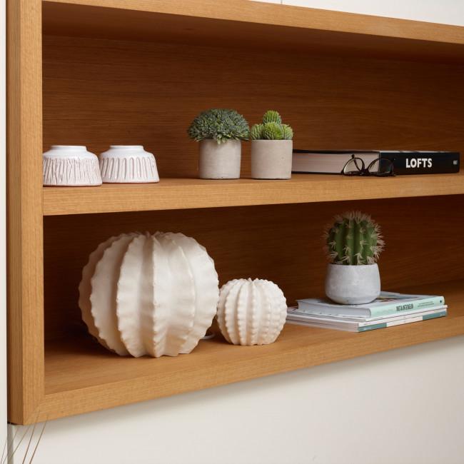 Cactus artificiel en pot ciment 18,5cm Cactus