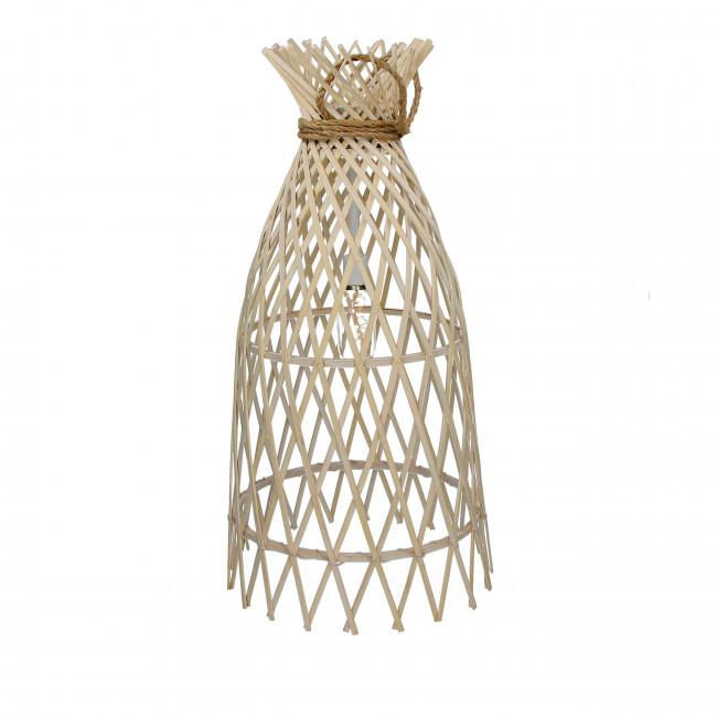 Suspension en bambou et corde L Irene