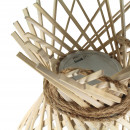 Suspension en bambou et corde M Irene