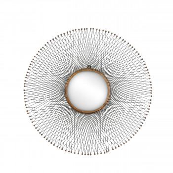 Miroir design en métal Isumi
