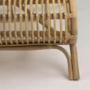Chaise longue en bambou Kim
