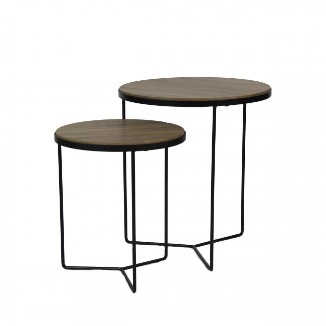 Lot de 2 tables d'appoint Miso