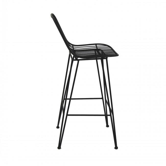Chaise de bar design en métal 90cm Ombra