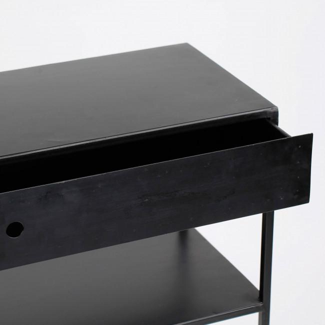 Console 1 tiroir/1 étagère en fer So Cute