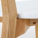 Lot de 2 chaises design scandinave Vitak