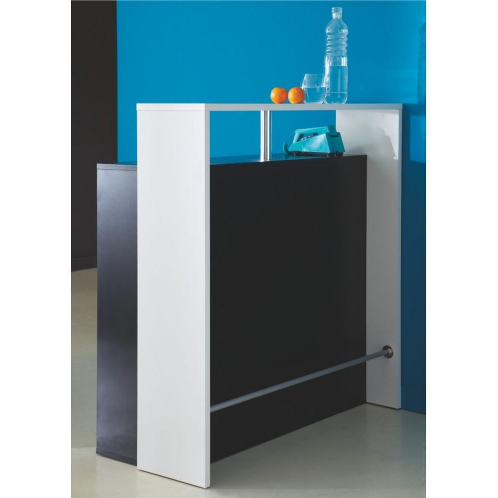 Meuble de bar design et moderne drawer - Bar piano blanc et noir ...