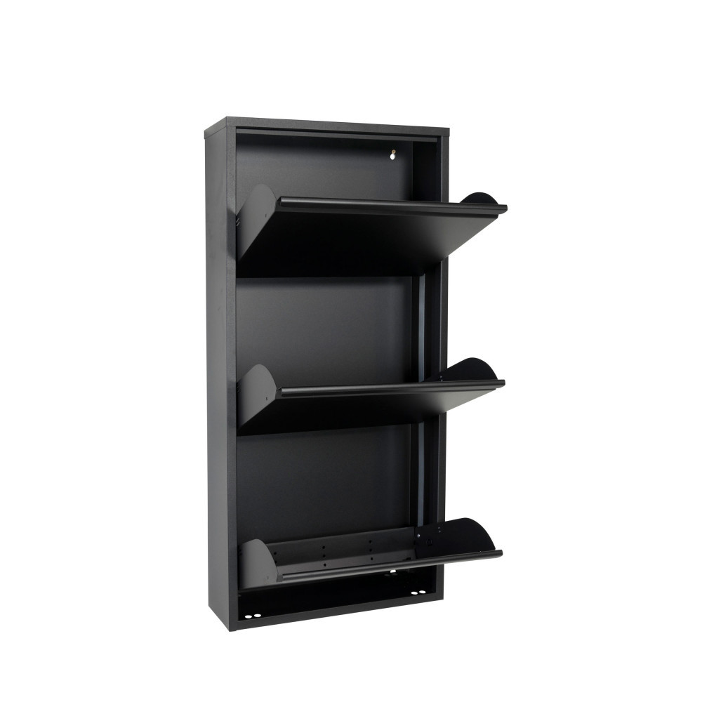 meuble chaussures mural billy 3 drawer. Black Bedroom Furniture Sets. Home Design Ideas