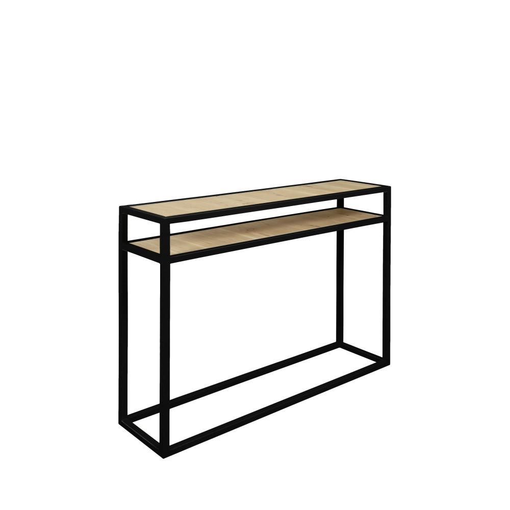 Console bois et métal 90cm Diva - Drawer
