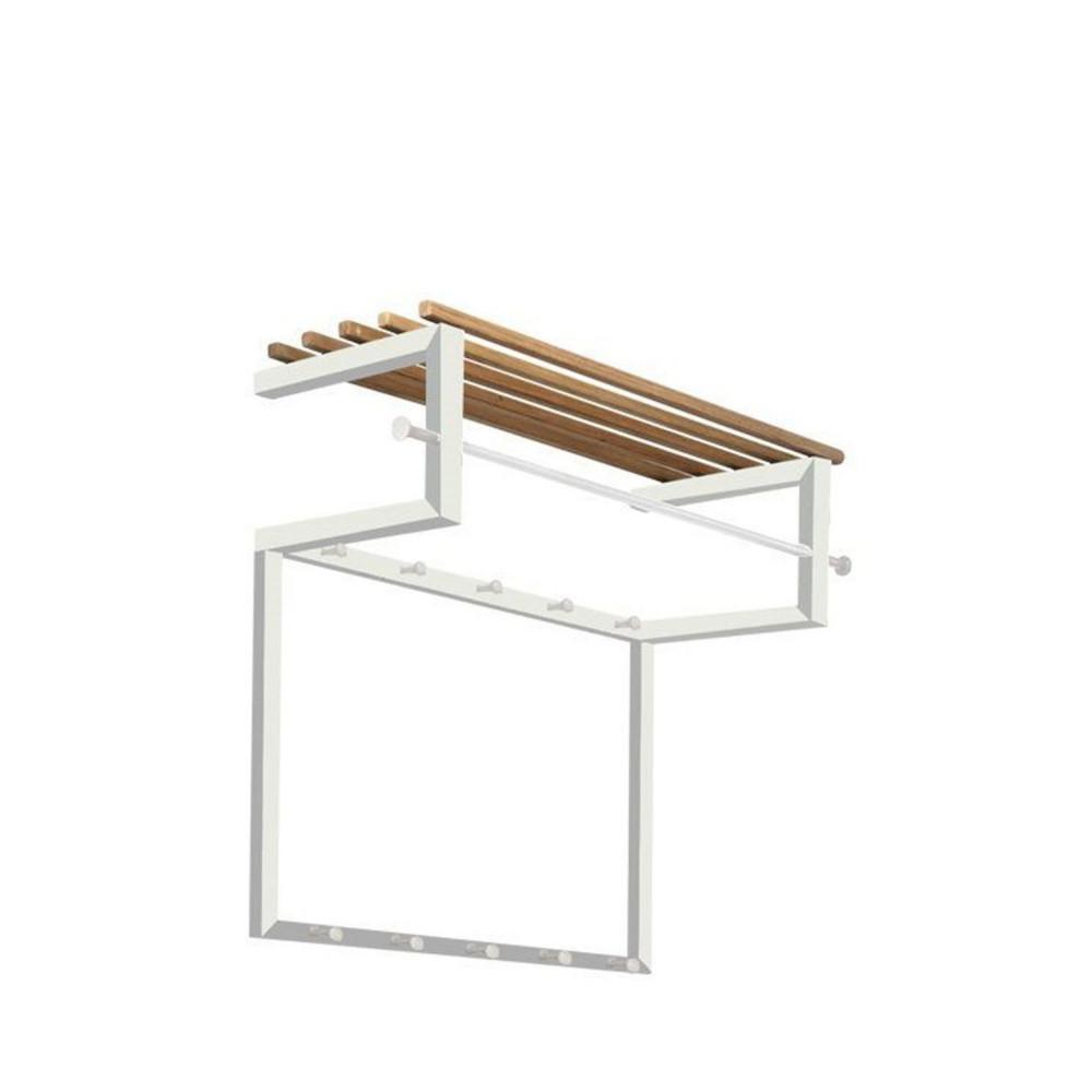 porte manteau mural acier rizzoli drawer. Black Bedroom Furniture Sets. Home Design Ideas